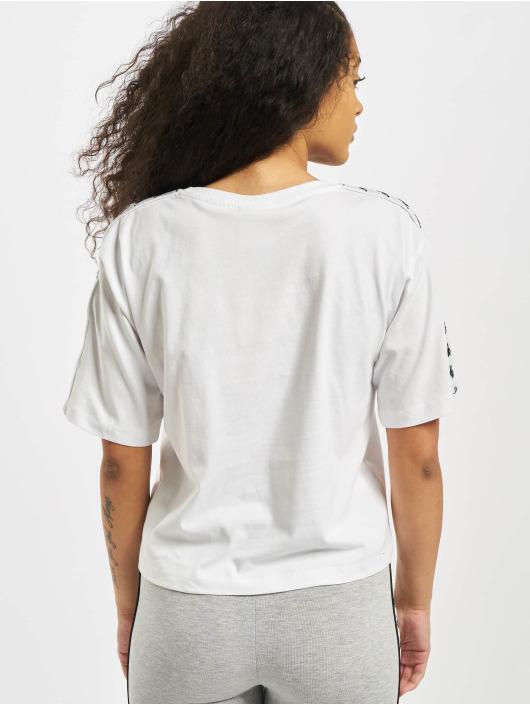 Kappa T-Shirty Glanda bialy