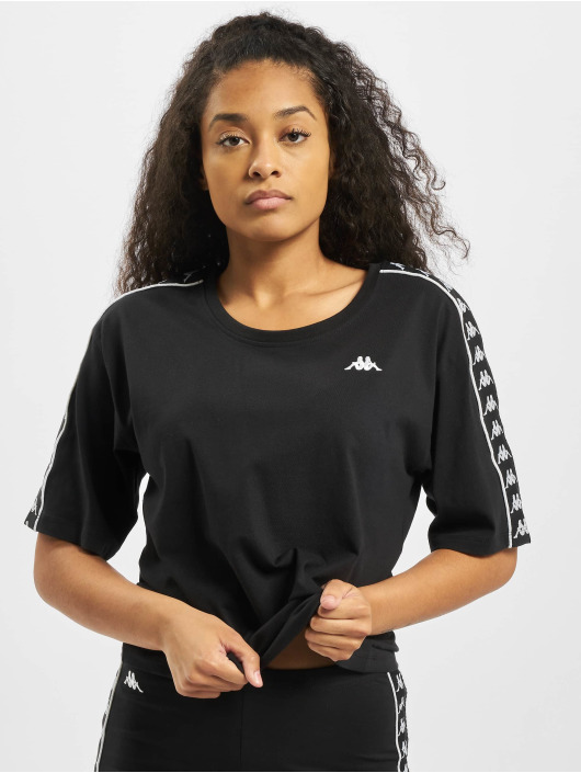 Kappa T-Shirty Glanda czarny