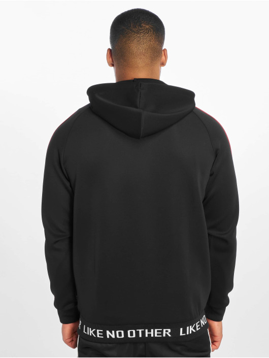 Kappa Zip Hoodie Authentic Jpn Basev svart