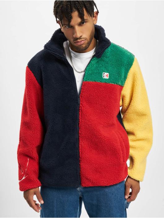 Karl Kani Демисезонная куртка Signature Block Teddy красный