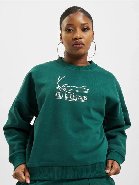 Karl Kani Пуловер Signature Kkj зеленый