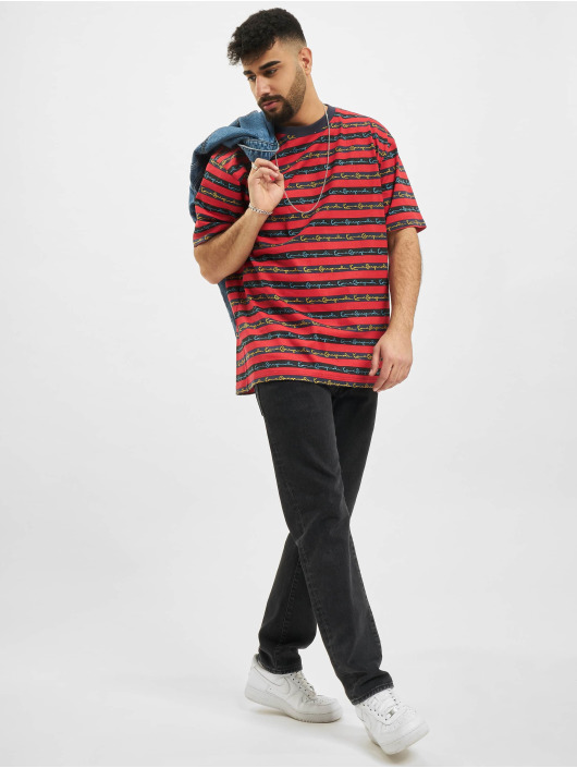 Karl Kani Футболка Originals Stripe красный