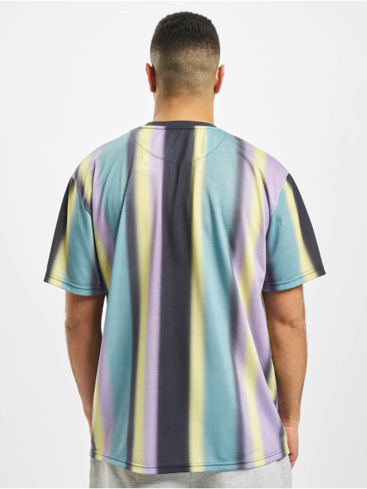 Karl Kani Футболка Kk Faded Stripe Signature синий