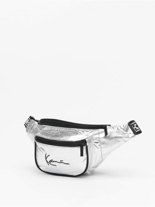 Karl Kani Bag Signature Tape silver colored