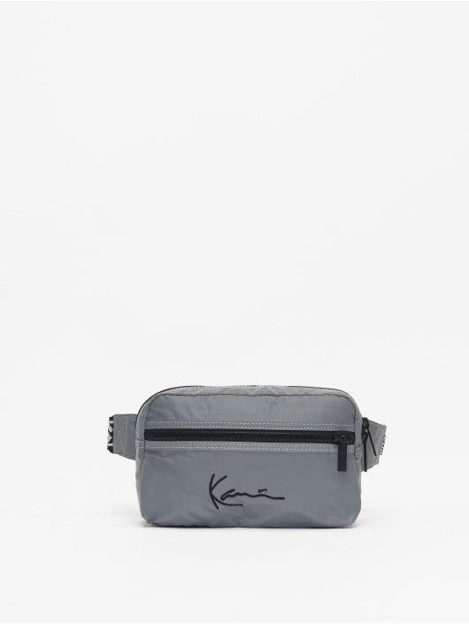 Karl Kani Bag Kk Signature Tape silver colored