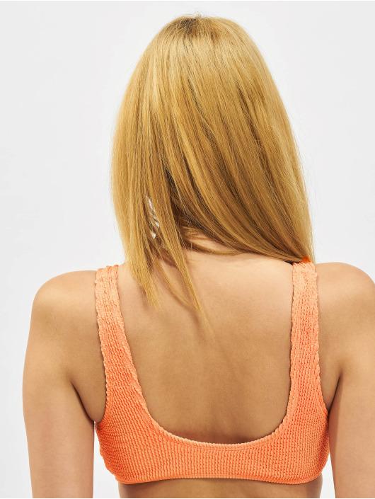 Karl Kani Bikini Originals Crinkle pomaranczowy