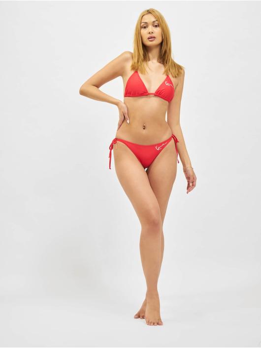 Karl Kani Bikinis Signature Triangle red