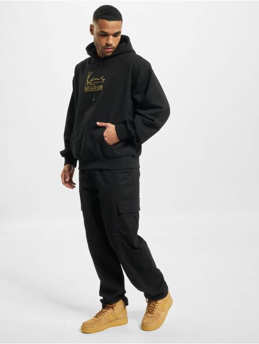 Karl Kani Bluzy z kapturem Signature Kkj Oversize czarny