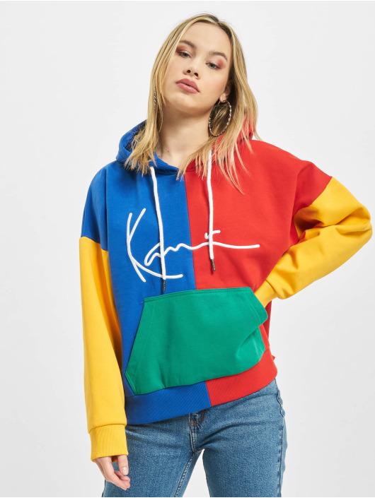 Karl Kani Bluzy z kapturem Signature Block czerwony