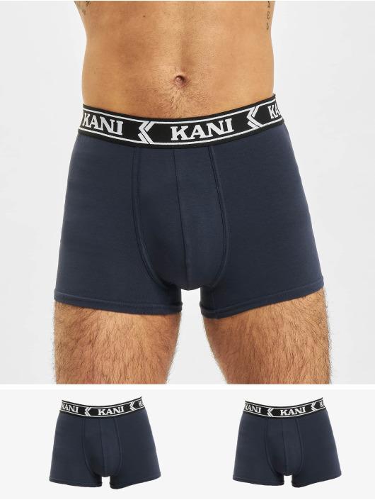 Karl Kani Bokserki 3-Pack Retro Tape Essential niebieski