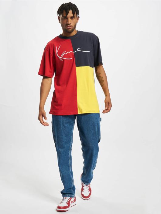 Karl Kani Camiseta Signature Block amarillo