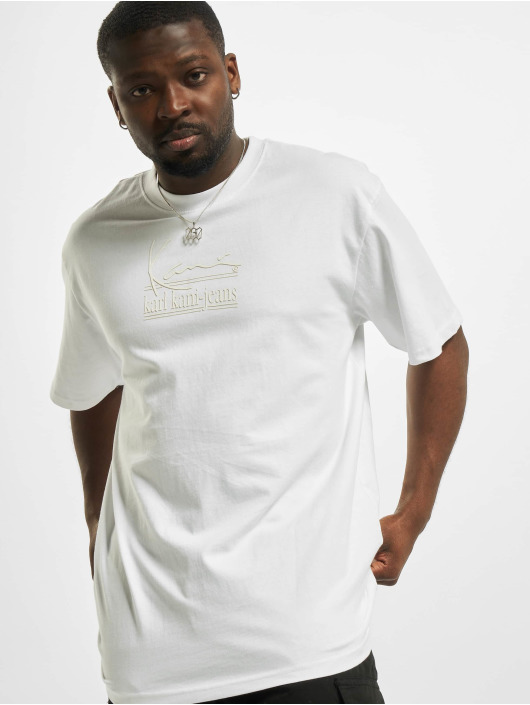 Karl Kani Camiseta Signature Kkj blanco