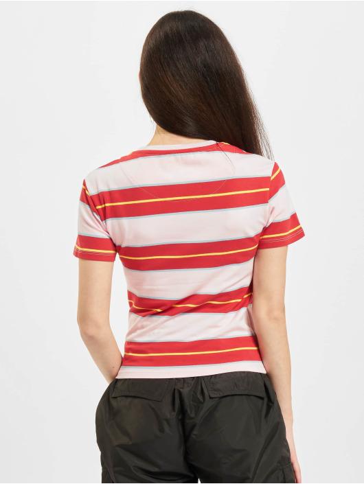 Karl Kani Camiseta Small Signature Stripe rojo