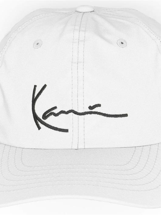 Karl Kani Casquette Snapback & Strapback Kk Signature Reflective argent
