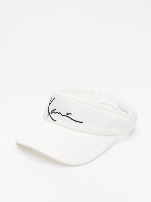 Karl Kani Casquette Snapback & Strapback Signature blanc