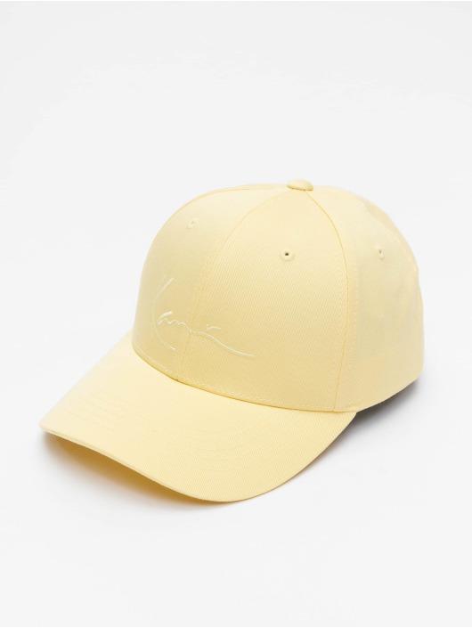 Karl Kani Casquette Snapback & Strapback Signature jaune