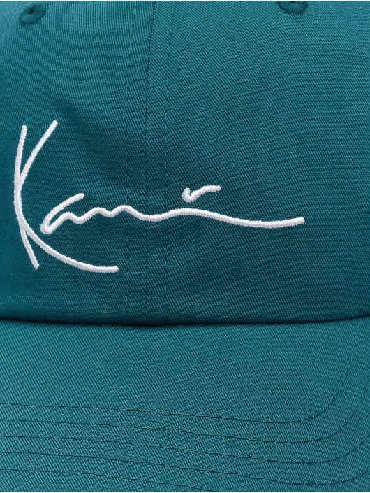 Karl Kani Casquette Snapback & Strapback Signature vert