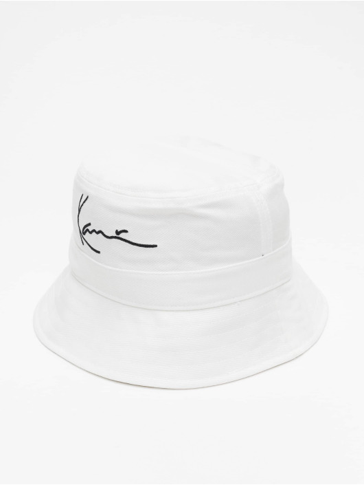 Karl Kani Chapeau Signature blanc