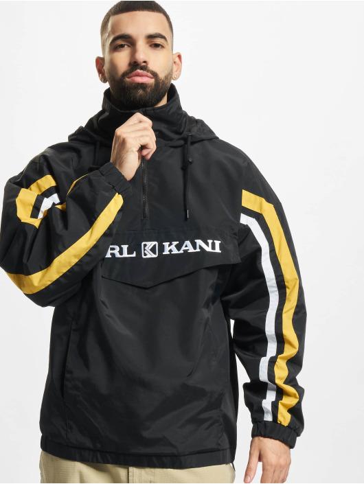 Karl Kani Chaqueta de entretiempo Retro Block negro