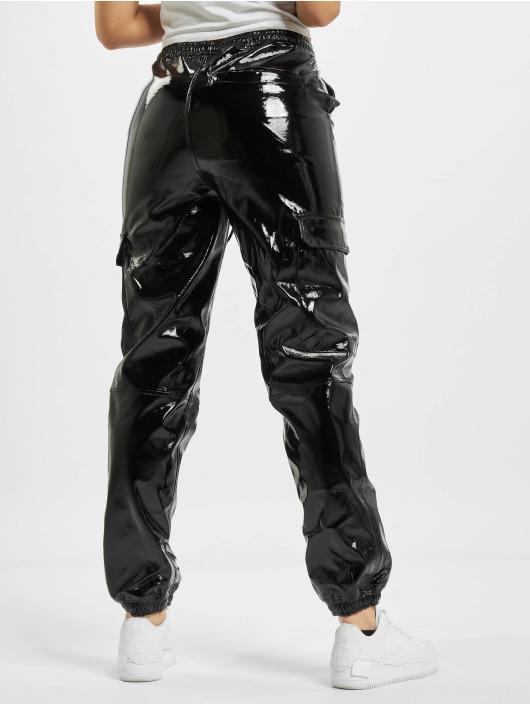 Karl Kani Chino bukser Kk Signature Glossy svart