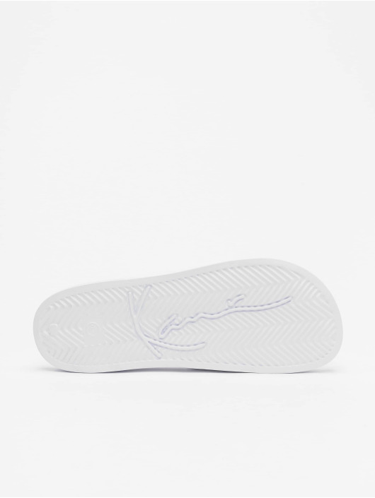 Karl Kani Claquettes & Sandales Signature Pool blanc