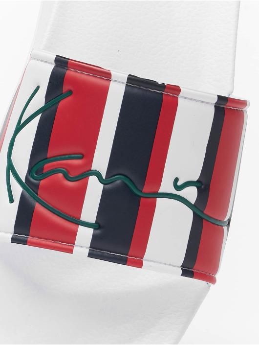 Karl Kani Claquettes & Sandales Signature Stripe Pool bleu