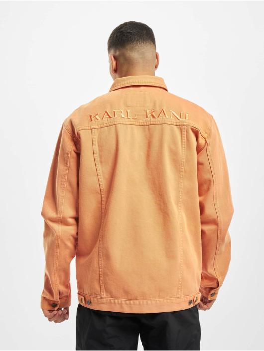 Karl Kani Denim Jacket Kk Denim orange