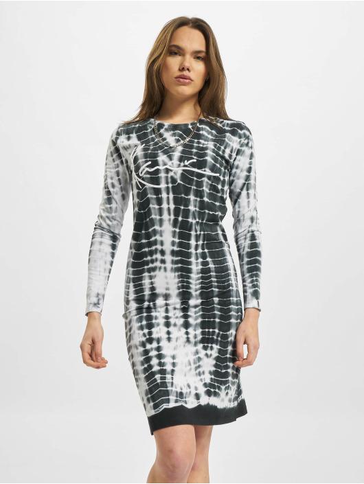 Karl Kani Dress Signature Tiedye Rib white