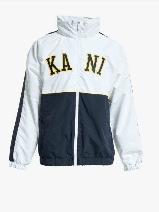 Karl Kani Giacca Mezza Stagione Kk College Block Windrunner bianco