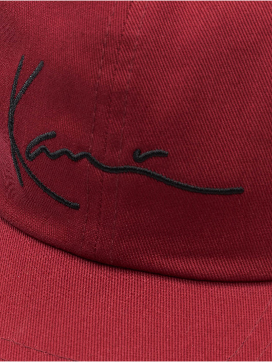 Karl Kani Gorra Snapback Signature rojo