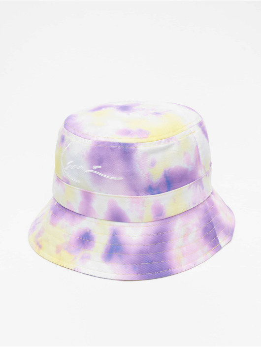 Karl Kani Hat Signature Tie Dye purple