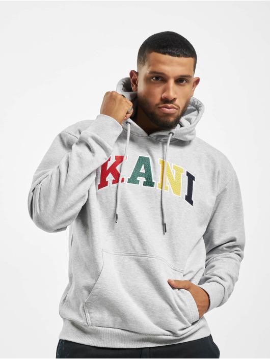 Karl Kani Hoodie Kk Serif gray