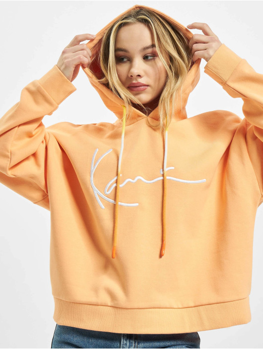 Karl Kani Hoodie Signature orange