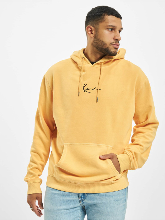 Karl Kani Hoodie Kk Small Signature Washed yellow