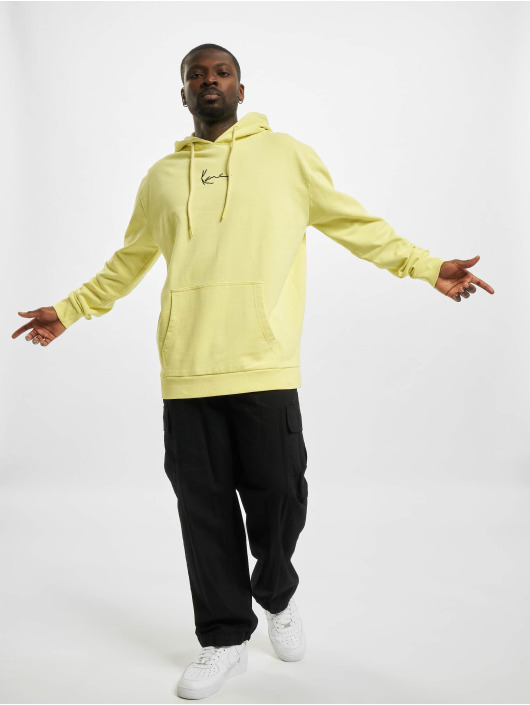 Karl Kani Hoodie Small Signature Washed yellow