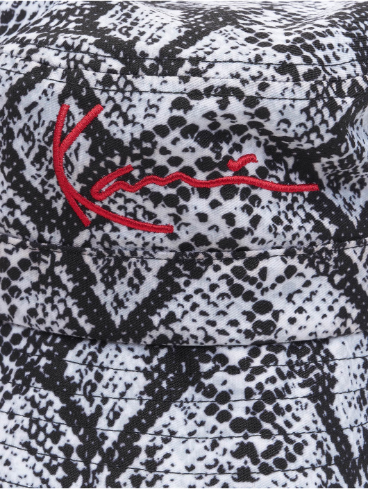 Karl Kani Hut Kk Signature Snake schwarz