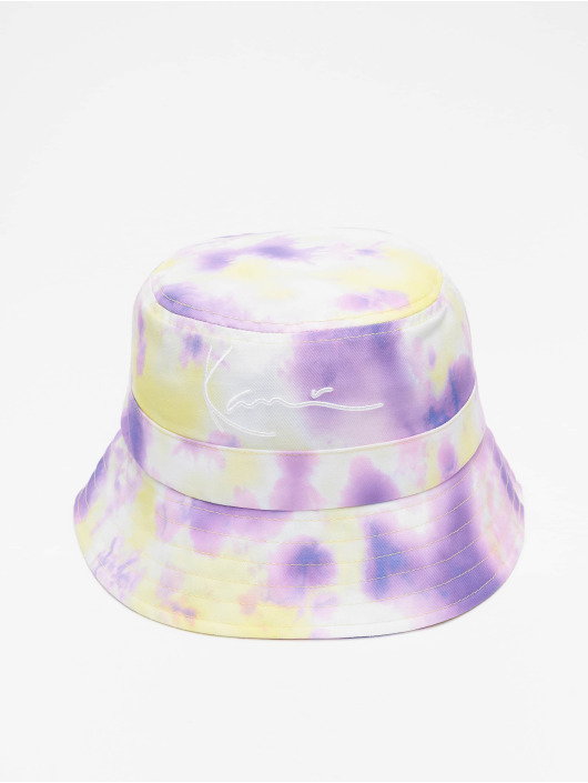 Karl Kani Hut Signature Tie Dye violet