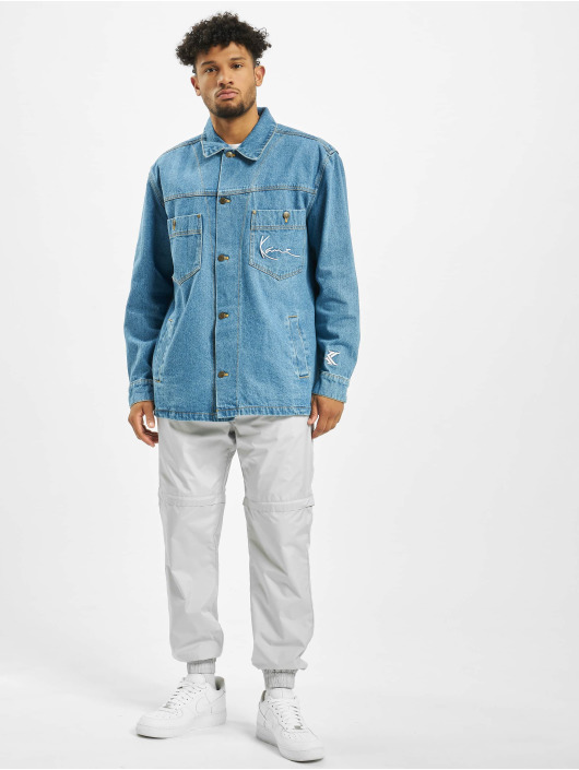 Karl Kani Jeansjacken Denim Shirt blau