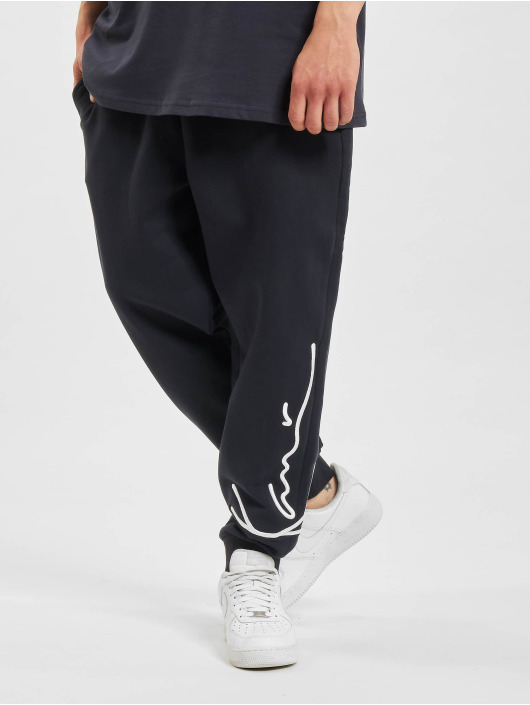 Karl Kani joggingbroek Signature blauw