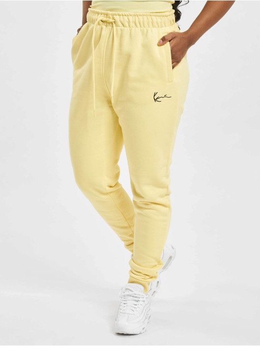Karl Kani joggingbroek Signature geel