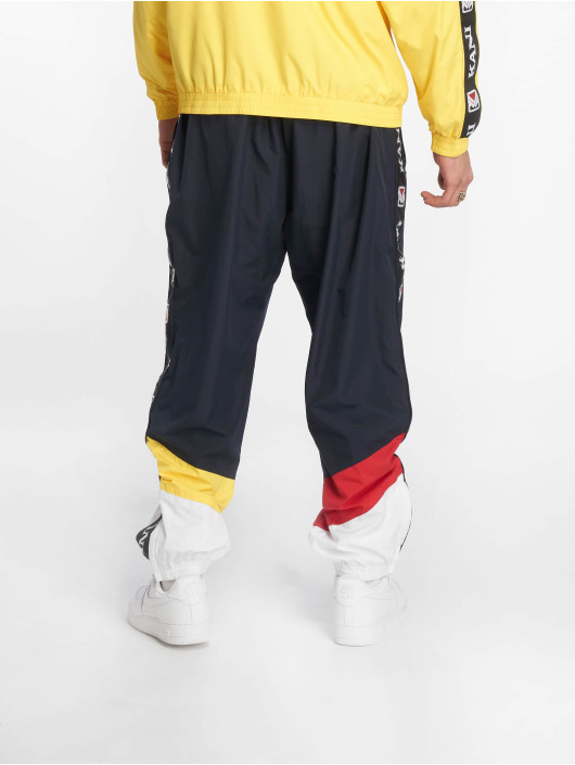Karl Kani Jogginghose Retro Block blau