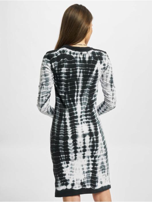 Karl Kani jurk Signature Tiedye Rib wit
