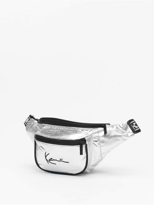 Karl Kani Kabelky Signature Tape strieborná