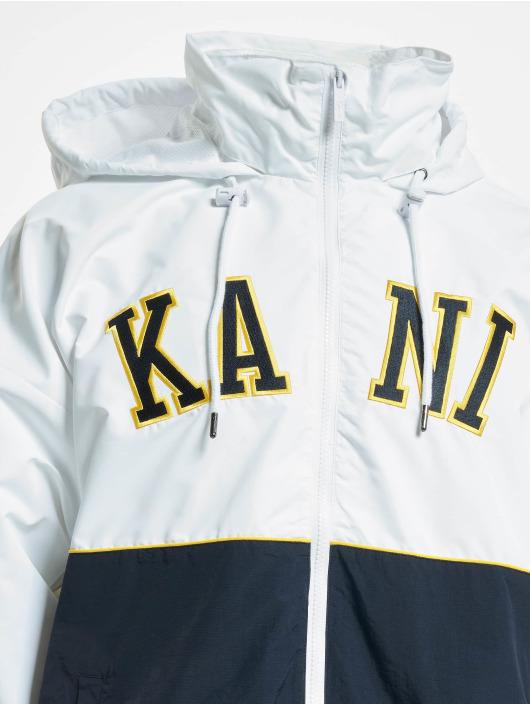 Karl Kani Kurtki przejściowe Kk College Block Windrunner bialy