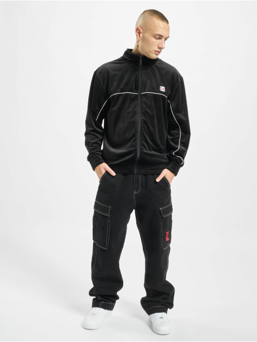 Karl Kani Lightweight Jacket Retro Velvet black