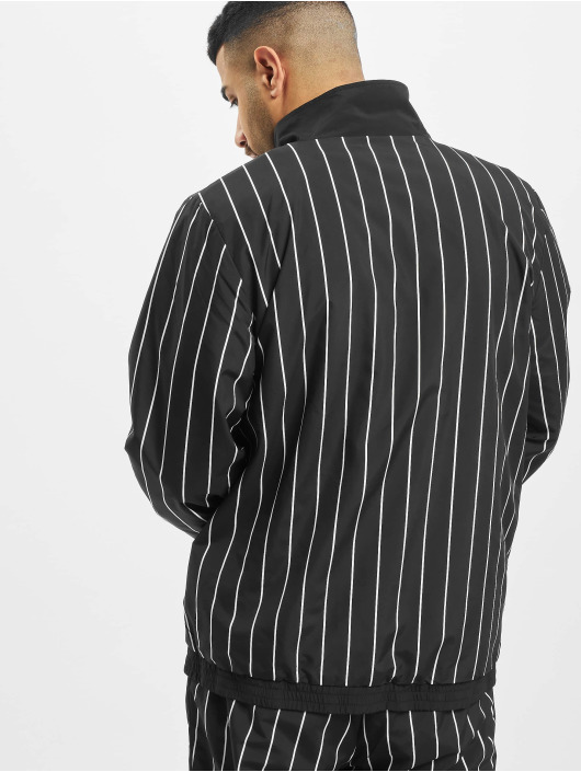 Karl Kani Lightweight Jacket Kk Retro Pinstripe black