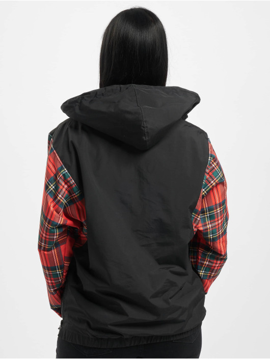 Karl Kani Lightweight Jacket Kk Check black