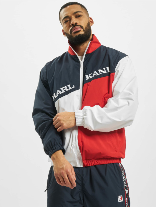 Karl Kani Lightweight Jacket Retro Block blue