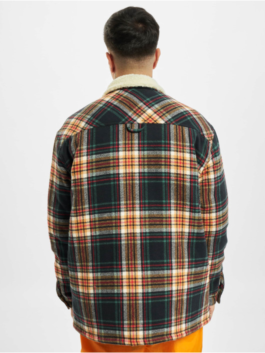 Karl Kani Lightweight Jacket Kk Small Signature Flannel Shirt colored