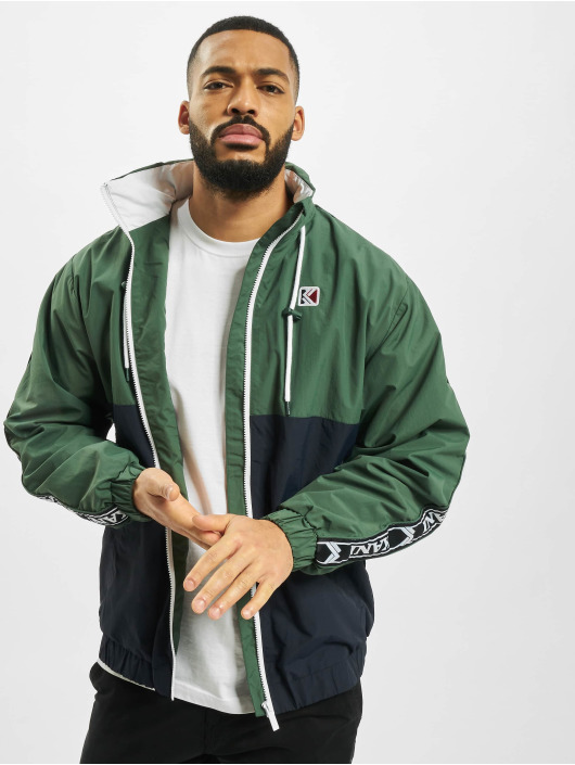 Karl Kani Lightweight Jacket Retro Tape green
